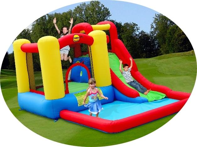 Gioco gonfiabile happy air castello acquatico salta splash happy 9271 gonfiabile acquatico con - Scivolo gonfiabile per piscina ...