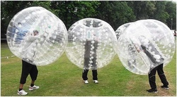 Bubble Football il calcio dentro enorme il pallone gonfiabile Happy Bumper Ball a norma PZ 6