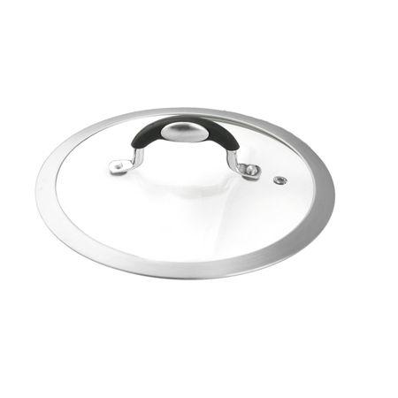 Coperchio diametro 18 universale in vetro da forno