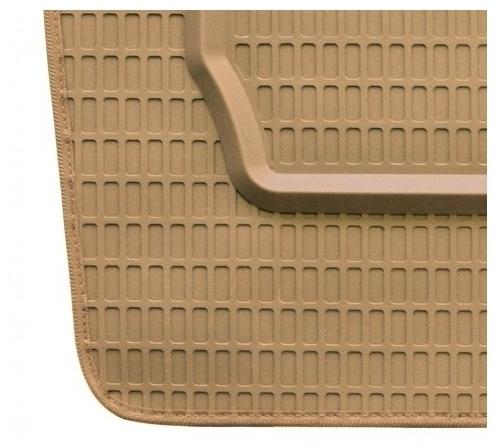 Tappeti in gomma su misura per Mitsubishi L200 (2001-2005)