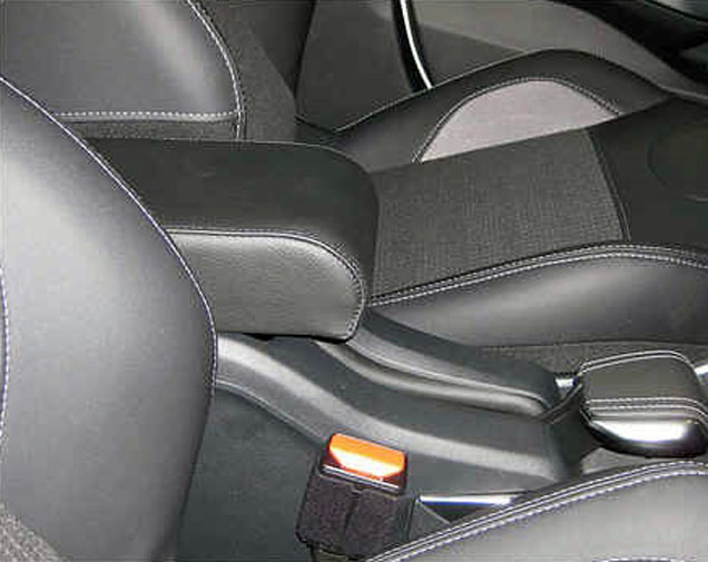 armrest for peugeot 2008 with patent fitting system.