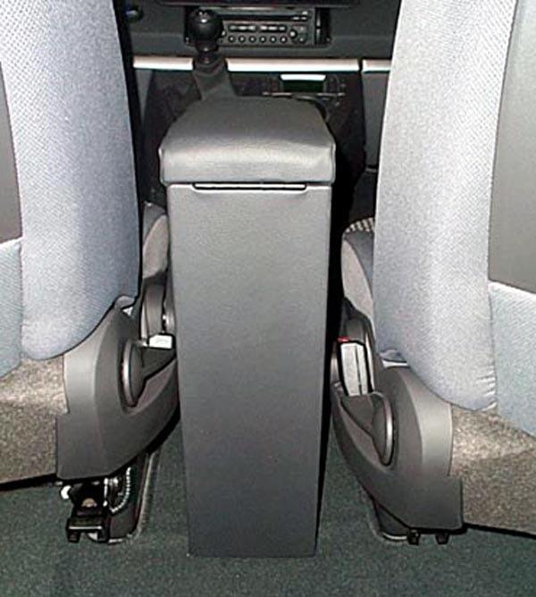 Bracciolo regolabile con portaoggetti per Citroen C8