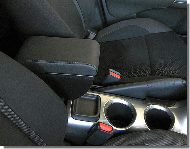Bracciolo regolabile con portaoggetti per Nissan Juke
