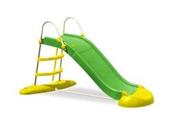 Scivolo per bambini JUMBO in plastica e metallo lunghezza 220 cm COD.SC1337 con gioco acqua