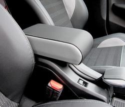 Bracciolo BICOLORE regolabile per Peugeot 2008 + cuciture colorate