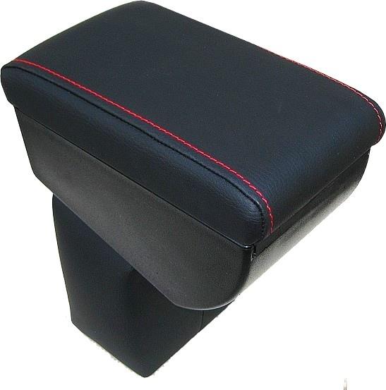 accoudoir r glable en longueur avec porte objet sp cifique pour nissan juke avec coutures de couleur. Black Bedroom Furniture Sets. Home Design Ideas