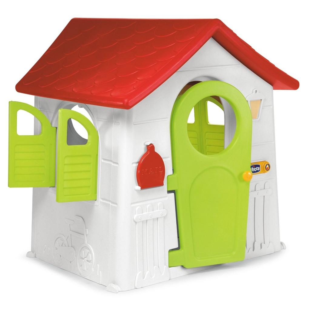 Casetta in plastica per bambini da giardino casetta nel for Casetta giardino chicco