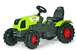 Trattore a pedale per bambini Rolly Toys 601042 Veicolo a Pedali Farmtrac Claas Axos 340