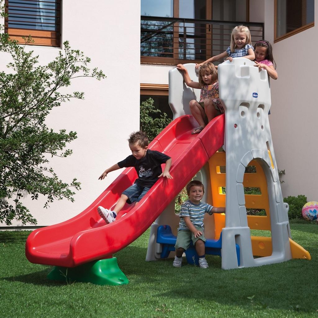 scivolo per bambini da giardino chicco by mondo 30002 - scivolo ... - Vendita Scivoli Da Giardino