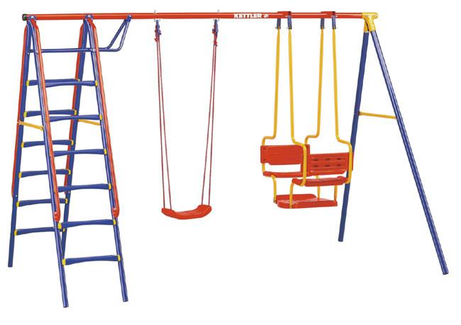 Altalena per giardino da bambini kettler modello deluxe for Altalena da giardino per bambini chicco