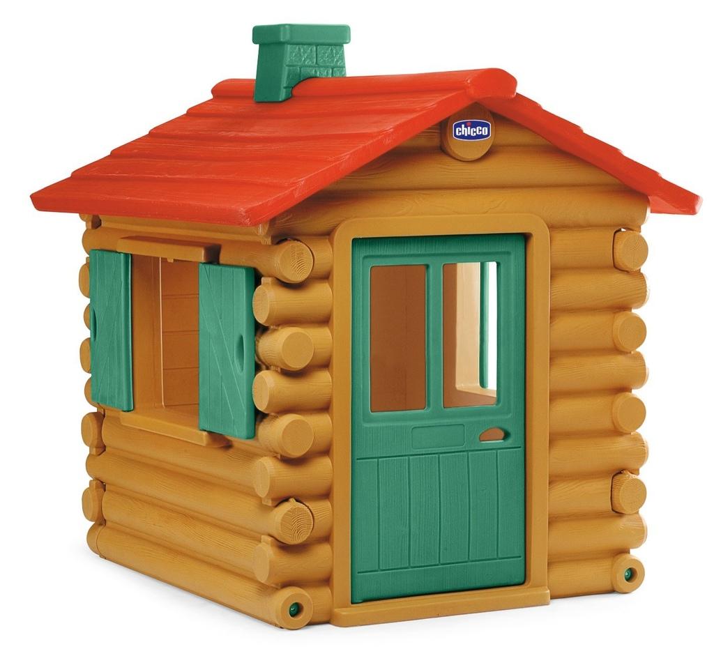 casetta per bambini da giardino chicco simil chalet legno