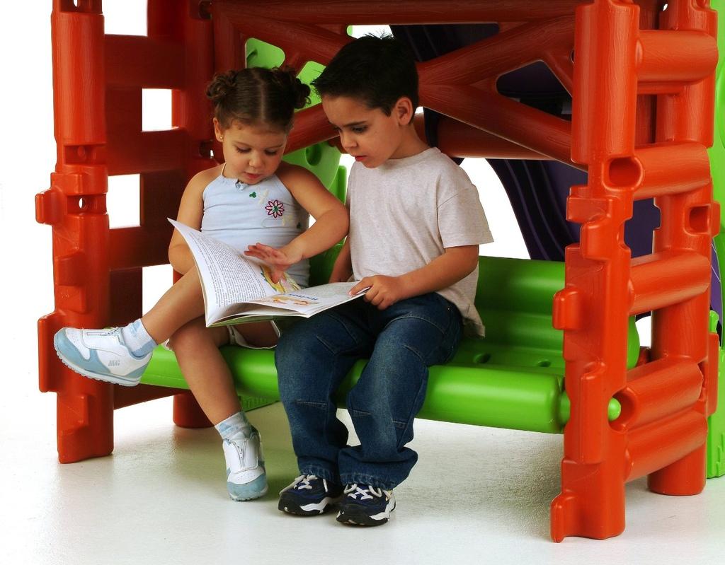 Parco gioco gigante da giardino per bambini centro - Casetta da giardino per bambini feber ...