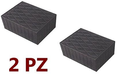 Tamponi in gomma per ponti sollevatori e applicazioni gravose (2 PEZZI)