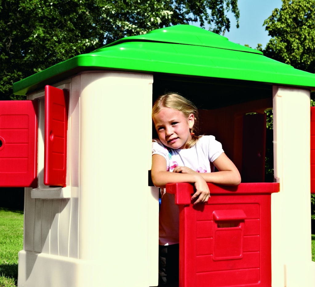 Casetta da giardino per bambini chicco mondo garden 30804 for Casetta chicco country