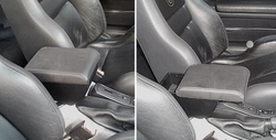 Bracciolo regolabile con portaoggetti per Alfa Romeo GTV Phase 1