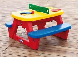 Tavolino per bambini da gioco disegno Chicco by Mondo 30700 Tavolino da gioco + omaggio