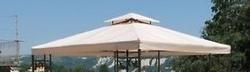 Telo ricambio per Gazebo quadro 3 x 3 copertura impermeabile 3 x 3 modello GINO33
