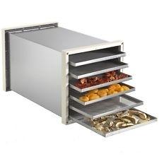 Essicatore Essiccatore BIOSEC DE LUXE B6 INOX 6 cestelli in acciaio inox per funghi, frutta Biosec DE LUXE 6 TAURO Essiccatore Domestico per Alimenti con dryset pro
