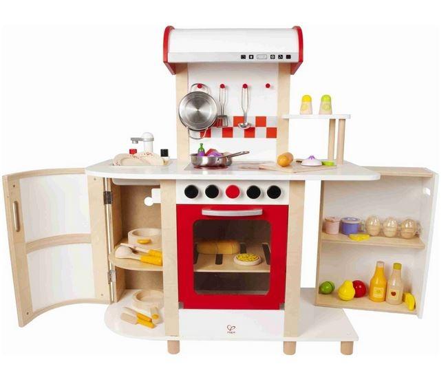 Cucina multifunzione cucina hape multifunzione hape - Cucina legno bambini ...