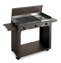 Barbecue a gas BST 824 PERSONAL Grill 3F multigas piastra ghisa e ollare