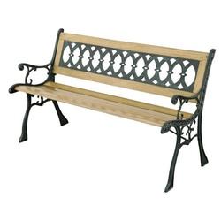 Panchina in legno ELDORADO cm 126 x 52 x 73 papillon 55395