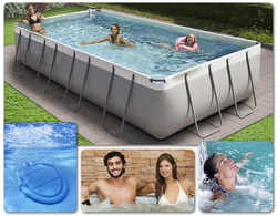 KIT Idromassaggio universale BETTY Mobile per tutte Piscine POOL BUBBLE SPA New Plast