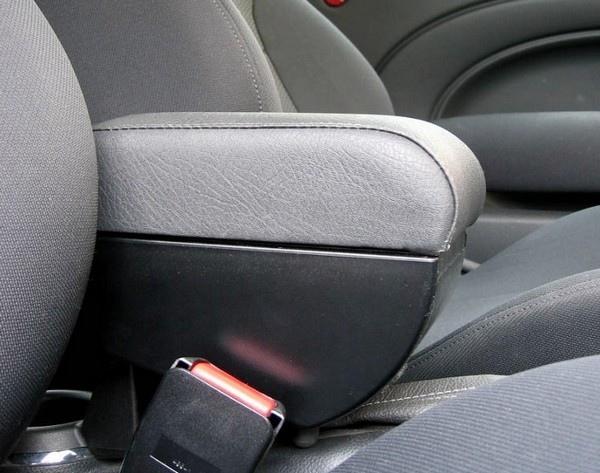 Bracciolo regolabile con portaoggetti per Audi 80