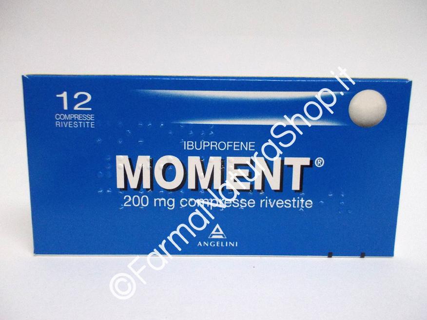 MOMENT® 200 mg 12 Compresse