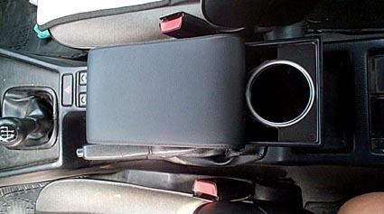 Bracciolo regolabile con portaoggetti per BMW Serie 3 E36