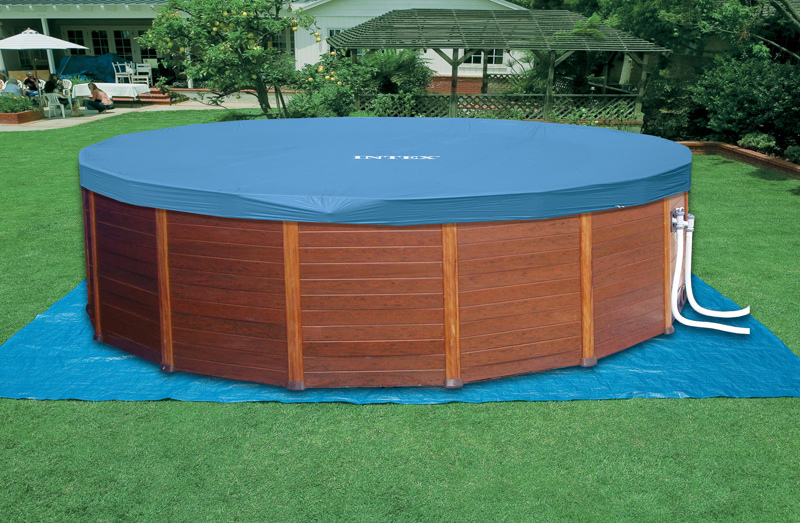 Piscina intex sequoia spirit cm 478 x 124cm con pompa for Piscine hors sol sequoia spirit intex