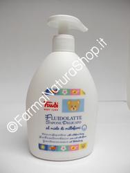 TRUDI Baby Care - Fluido Latte Sapone Delicato al Miele di Millefiori 500 ml.