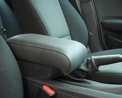 Bracciolo regolabile con portaoggetti per BMW Serie 1 E81 - E87