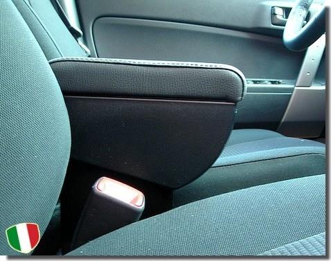Bracciolo regolabile con portaoggetti per Chevrolet Aveo (2005-2010) e Kalos