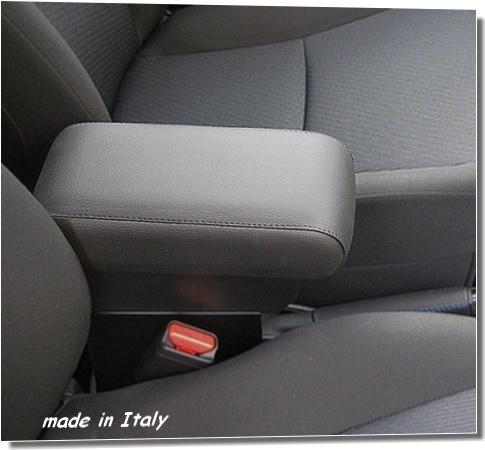 Bracciolo regolabile con portaoggetti per Dacia Sandero