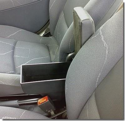 Bracciolo regolabile con portaoggetti per Dacia Duster