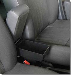 Bracciolo con portaoggetti per Daihatsu Cuore (dal 2007)