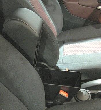 Bracciolo con portaoggetti per Ford Fiesta MK7 e MK8 (dal 2009)