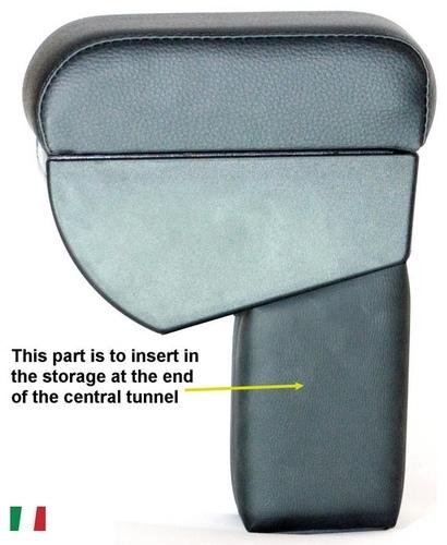 Bracciolo regolabile con portaoggetti per Ford C-Max (2007-2010)