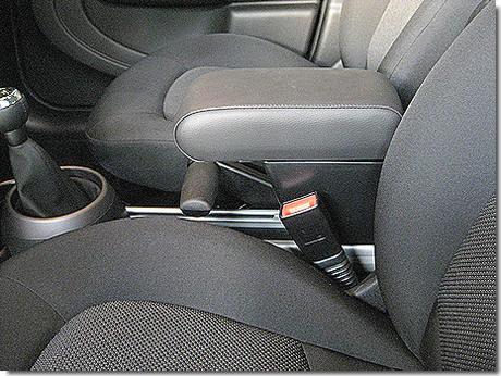 Bracciolo regolabile con portaoggetti per Mini Countryman