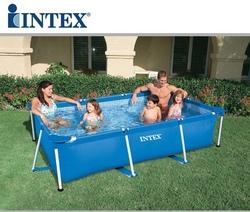 Piscina fuoriterra INTEX 28272 Frame rettangolare 300  x200 x h 75 cm capacità 2280lt 58981 / 28272