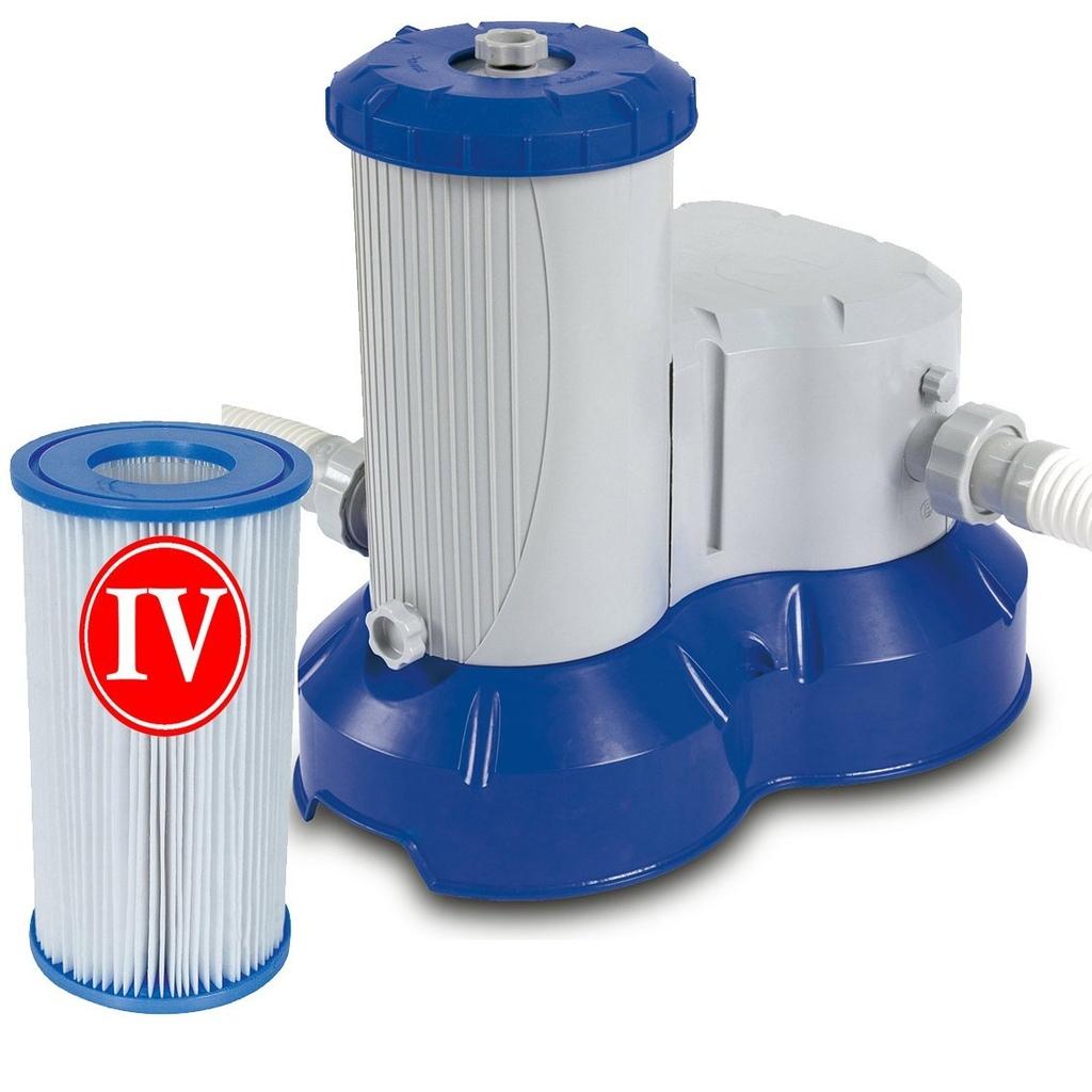 Pompa a filtro per piscine bestway 58221 flowclear 9463 lt for Pompa per piscina