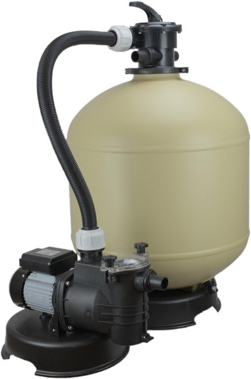 Pompa a sabbia da m3 200 lt sistema per for Pompa per piscina