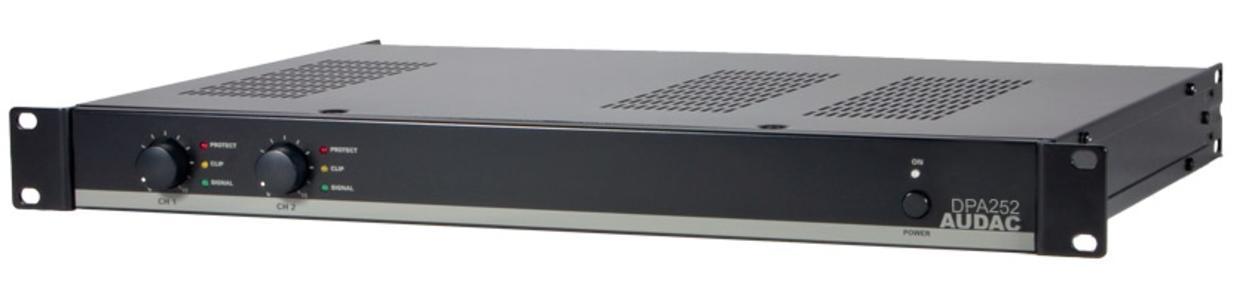 Audac DPA252 - amplificatore stereo 2 canali