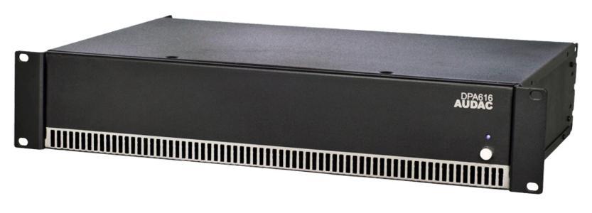 Audac DPA616 - Amplificatore 16 oppure 8 canali
