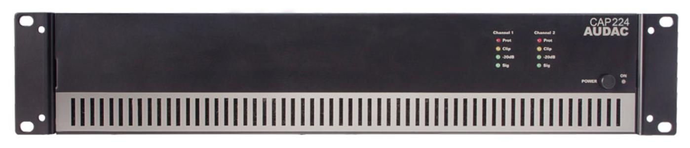 Audac CAP224 - Amplificatore 100V - 2x240W