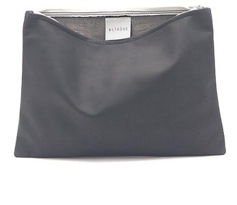 Bag - Clutch - iPad / Samsung / Tablet Cover - Case - IN GREY GEUINE LEATHER