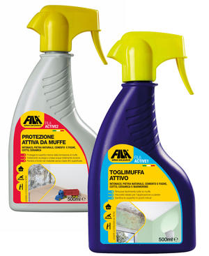 FILA ACTIVE 1+ 2  ENTRAMBI ASSIEME Antimuffa & Protezione per bagni, lavanderie, cantine, soffitte, garage, box doccia, piscine, saune