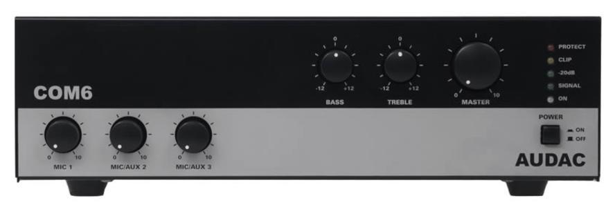 Audac COM6 - Amplificatore 100V