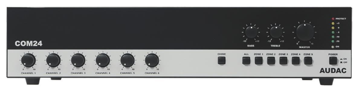 Audac COM24MK2 - Amplificatore 100V