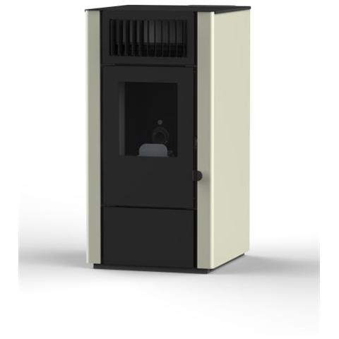 Eva calor stufa a pellet dora potenza termica nominale 8 kw colore avorio - Potenza stufe a pellet ...